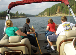 Party Boat Rentals in Lake Roosevelt